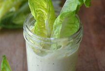 Vinaigrette und Soßen / Alles rund um Salat und Gemüse Dressings