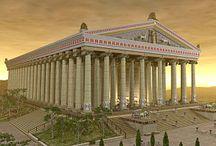 the Ancient Greek  civilization & architecture