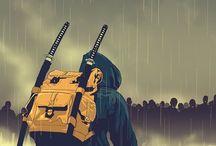 swords & samurai