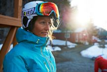 Giro Women: Snow / Giro Women athletes Kaitlyn Farrington and Izzy Lynch, ride hard and push the limits both in the park and pipe and in the backcountry. Find cutting-edge style across our entire women's product line.  / by Giro Sport Design