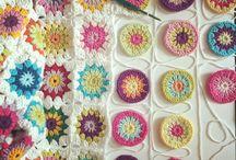 crochets fleurs