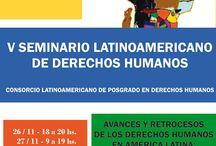 V Seminario Latinoamericano de Derechos Humanos