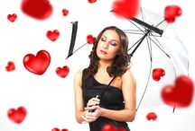 VALENTINES DAY UMBRELLAS / Find the best valentines day special umbrellas for your loved ones.