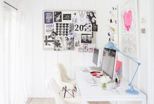 work space / by Tara McNulty // thewondergirl.com