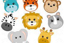 Zander's 1st Birthday / Jungle theme ideas for Zander's big number one..