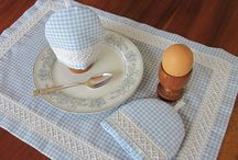 Chicken Scratch and Australian Cross Stitch / Embroidery on gingham