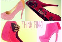 Pink Passion!  / Wear pink and show your support for Breastcancer Awareness Month! #pink #shoes #breastcancerawarnessmonth #october #pinkribbonmonth #thinkpink