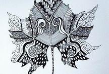 Fine liner art / Art made by fine liner pen.