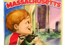 My Massachusetts / Children's book written by Elisabeth Villa, Illustrated by Nicole Fazio.