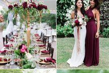 Bröllopsfärgtema