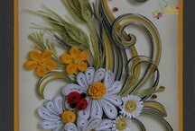 Quilled Cards / Quilling used in card making projects