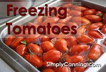 Canning and Freezing