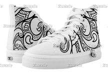 COLOR IT YOURSELF HIGH TOP, LOW TOP & SLIP ON SHOES & SNEAKERS
