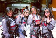 Celebrities @ NZONE Skydive