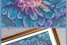 Signature Collection - Cross Stitch Patterns / Your behind-the-scenes look at the signature cross stitch patterns we're known for.