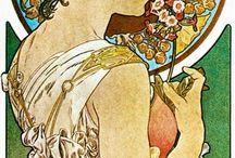Art nouveau èaintings
