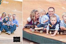 skate park/beach family photo shoot