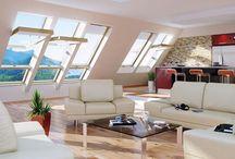 pokój na strychu