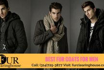 Furs for Men / This board was contains complete collection of quality real furs for men. Check out you Fav Fur and Purchase.!