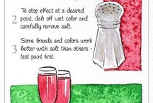 water colouring tips