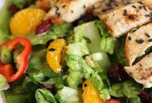 Food: Salads / by Linda Cencelewski