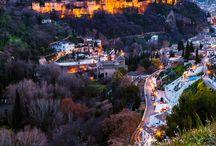 Granada, España / I'm prepping for my Erasmus stay at the 2014/2015 academic year in Granada, Spain.
