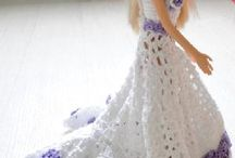 crocheted barbie clothes
