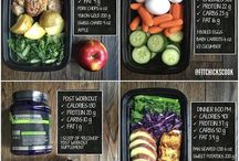 Fitness shred meals
