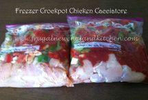 Freezer Cooking / Freezer Cooking Tips & Recipes