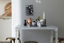 For the Home: Colour Palette: mixing metal decor / Brass and Silver. Grey and Gold. Copper and Silver with white or black. How do I mix you?