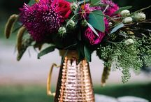 Wedding Style | Berry Romance / Weddings with rich winter berry colour tones