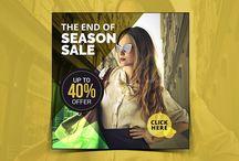 Season Sale Instagram Banner(40% Off)