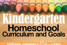 Kindergarten / Curriculum, ideas, materials, units, resources
