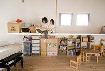 子ども部屋 / 香川県でソラマドの家を建てています、センコー産業です。 香川県内で手掛けた「ソラマドの家」の写真(施工例)を掲載しています。 実際に「ソラマドの家」を見たい方。香川県綾歌郡宇多津町にモデルハウスもございます。ぜひ遊びに来てください♬