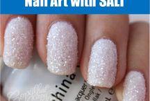 Textured Nail Art Design