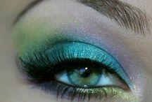 Cool makeup, nails, hair