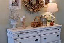 cottage decor / by Debbie Gibb