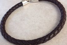 Men's Leather Braclet
