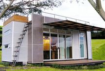 Container weekender homes / A home in a box