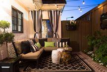 Outdoor patios