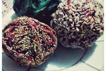 Bolas decorativas / Bolas decorativas hechas de papel periodico