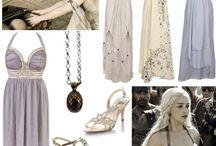 Fantasy Medieval wedding - Robes témoins