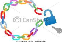 Cadena. / Imágenes relacionadas con cadenas.