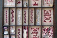 Letterpress drawer ideas