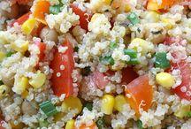 Quinoa gerechten