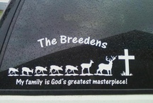 Family Decals / Stick family, cartoon family and a big selection of customized figures to show the unique qualities of your family. Designs for sports, hobbies, moms, dads, grandparents and children! Designs like our Deer Family and Christian Family designs make great gifts! We also have cute designs like our Cowboy Boots and Flips Flops family and funny stick families like our Ass Family and Gun Family offer lots of designs to choose from!