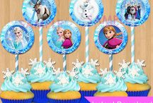 Frozen themed goodies