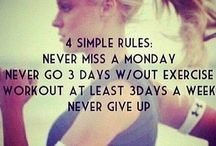 Fitness/Workout / Never give up
