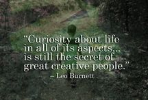Creativity Quotes / Picture quotes from the Local Color Blog