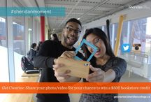 #SheridanMoment / Students sharing their excitement about getting into Sheridan. Snap a photo or upload a video using the hashtag #SheridanMoment and show us how creative you can be.  Visit http://getstarted.sheridancollege.ca/ to find out more